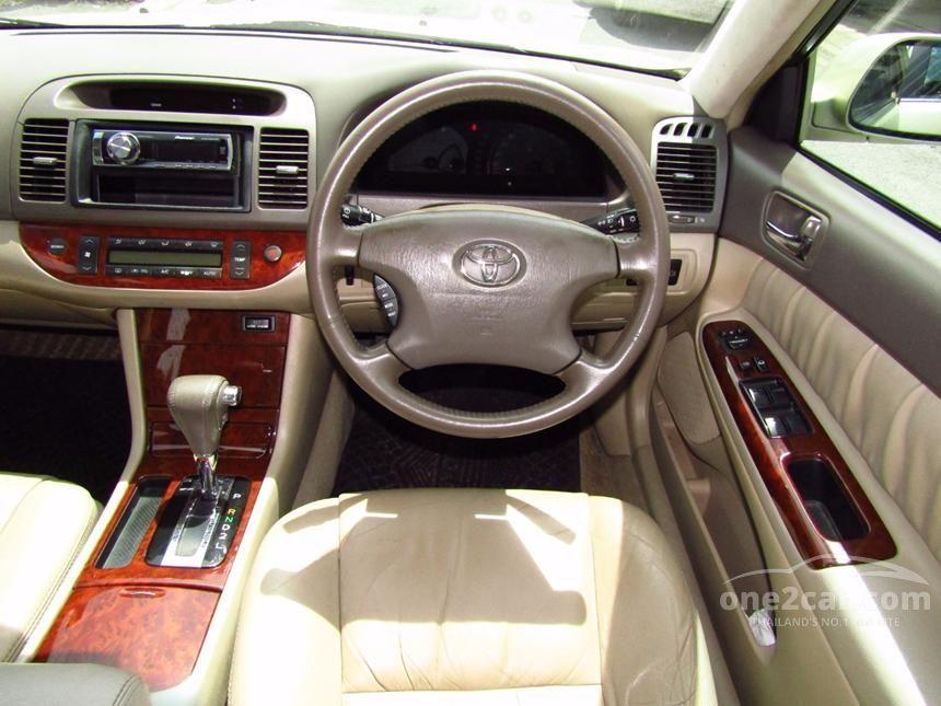 2003 Toyota Camry G Sedan