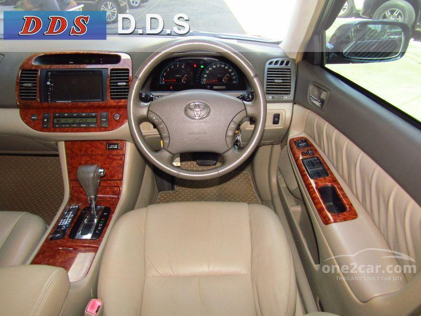 2004 Toyota Camry G Sedan