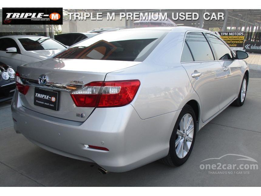 2012 Toyota Camry Hybrid Sedan