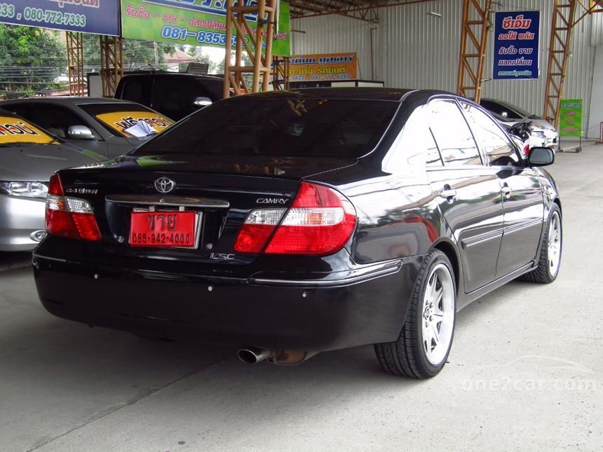 2002 Toyota Camry Q Sedan