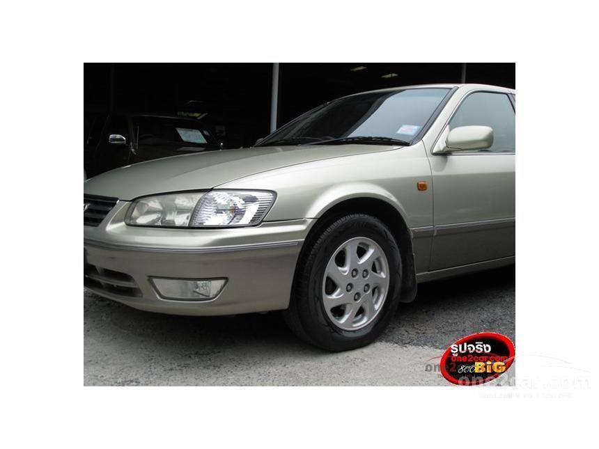 2002 Toyota Camry SEG Sedan