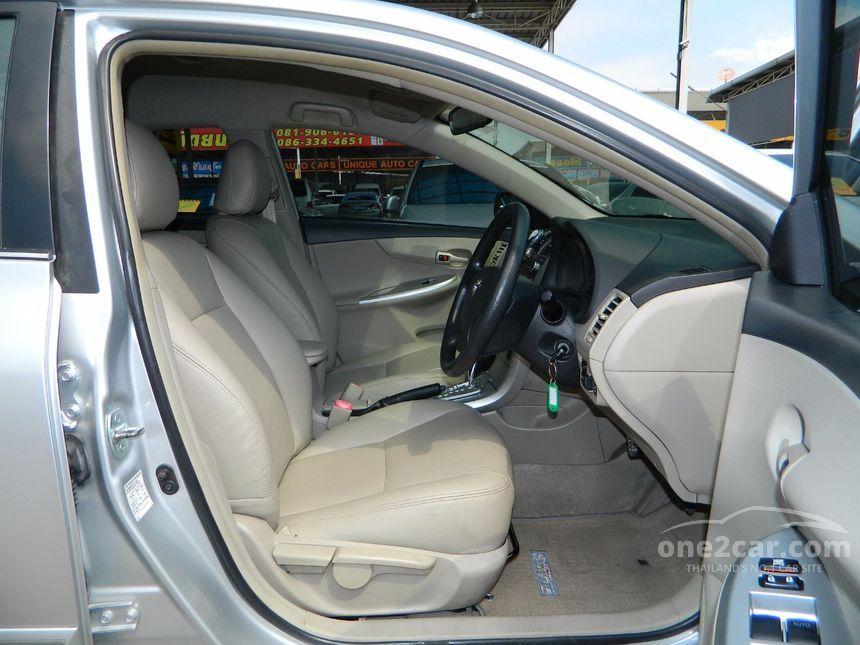2012 Toyota Corolla Altis CNG Sedan