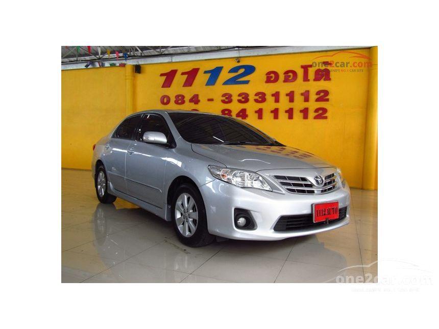 2013 Toyota Corolla Altis CNG Sedan