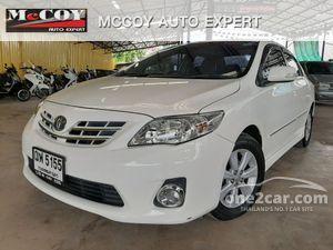 2012 Toyota Corolla Altis 1.6 (ปี 08-13) CNG Sedan AT