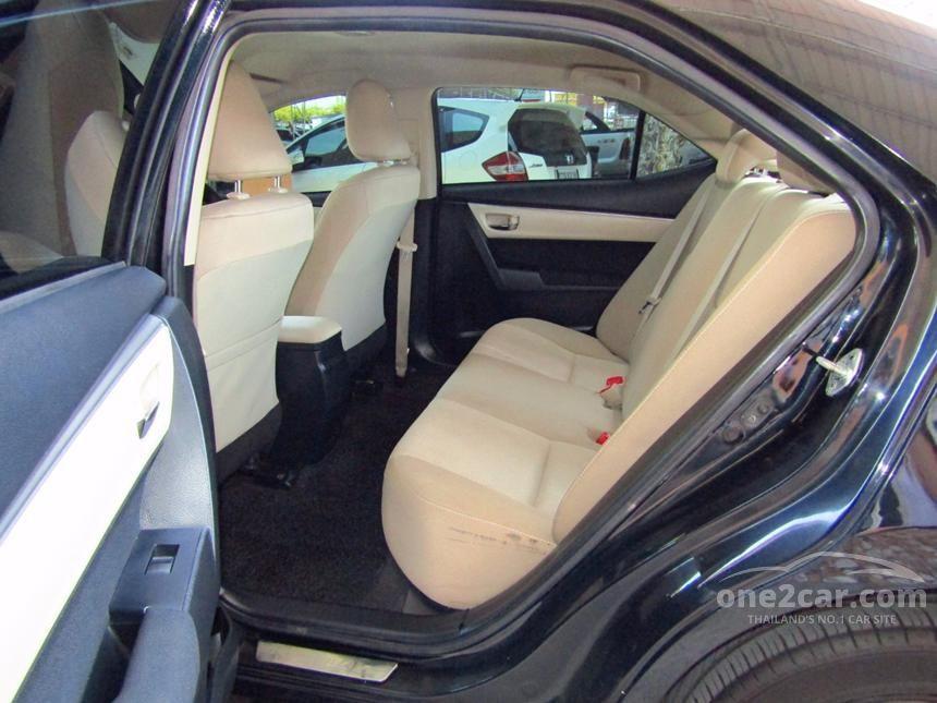 2014 Toyota Corolla Altis E CNG Sedan