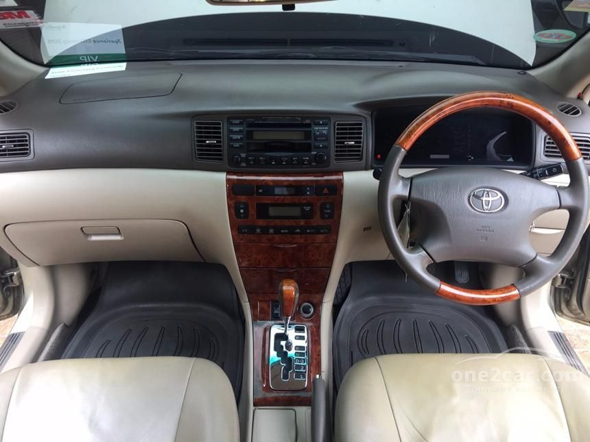 2005 Toyota Corolla Altis E Sedan