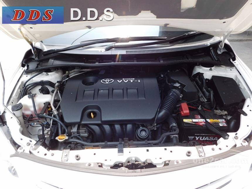 2012 Toyota Corolla Altis E Sedan
