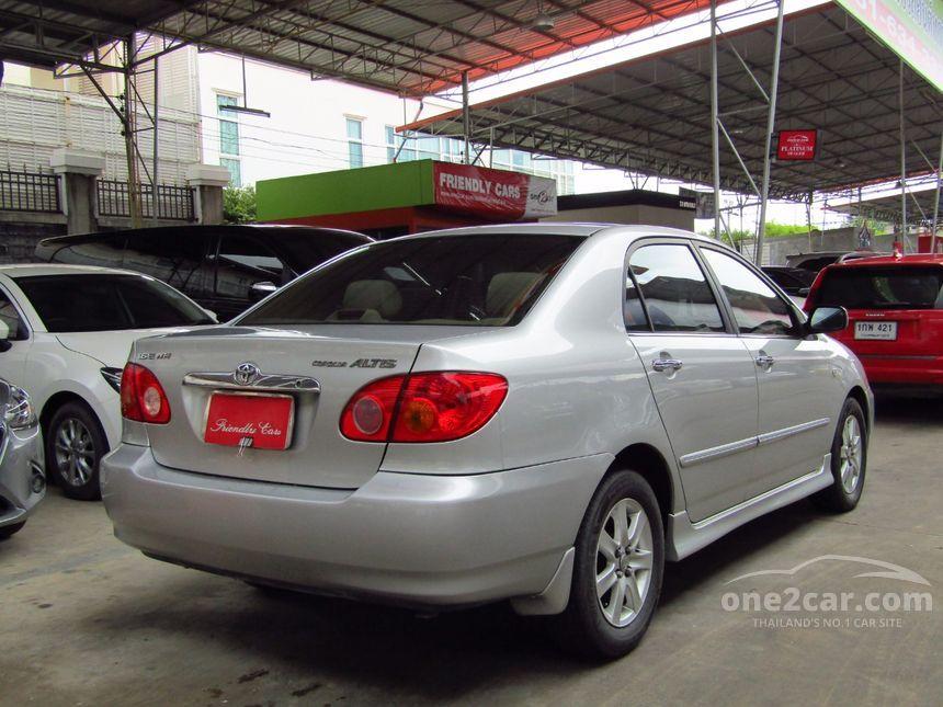 2002 Toyota Corolla Altis E Sedan