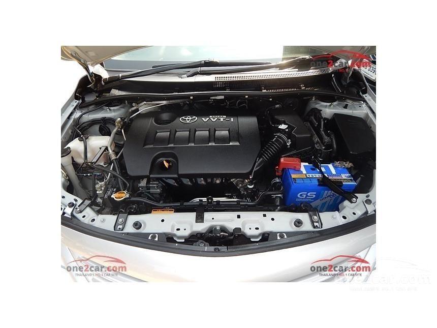 2011 Toyota Corolla Altis E Sedan