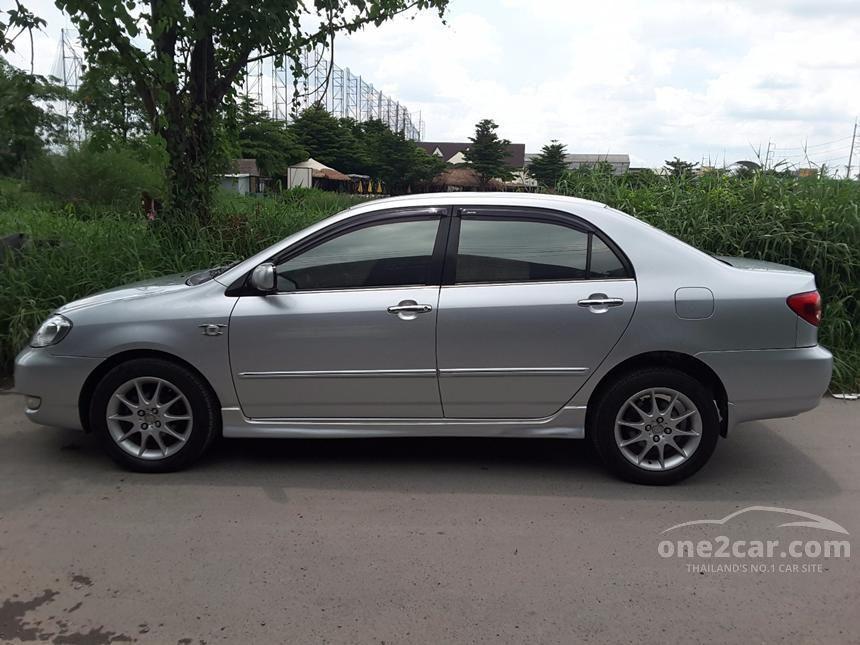 2007 Toyota Corolla Altis E Sedan