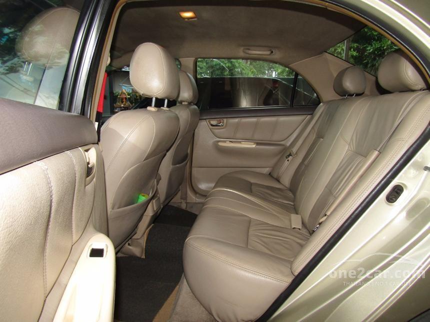 2003 Toyota Corolla Altis E Sedan