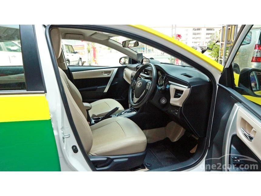 2016 Toyota Corolla Altis E Sedan