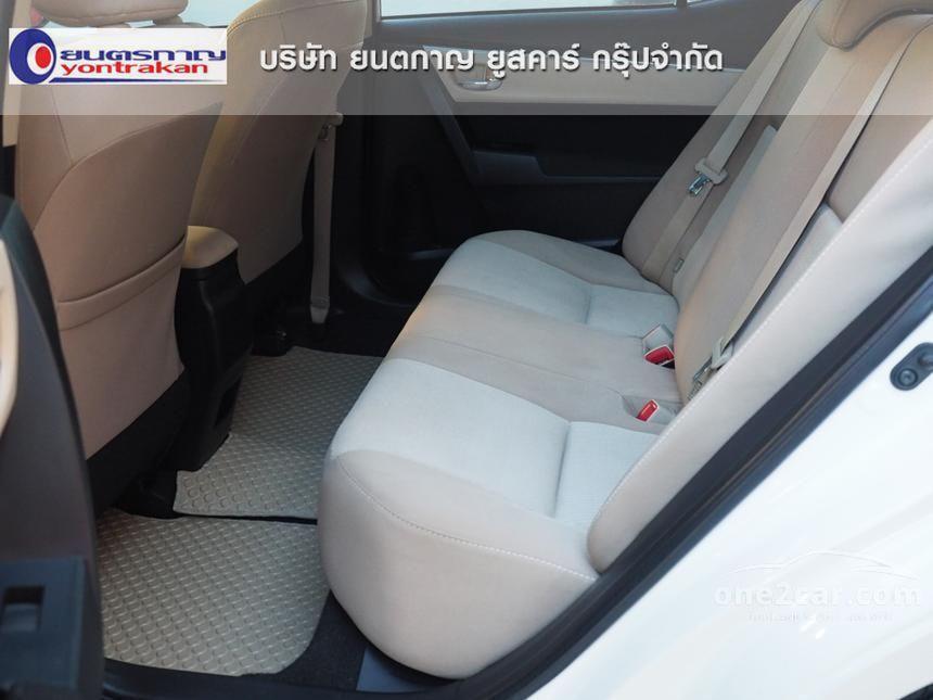 2014 Toyota Corolla Altis E Sedan