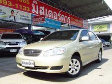 2004 Toyota Corolla Altis ALTIS(หน้าหมู ปี 01-07) E 1.6 Sedan