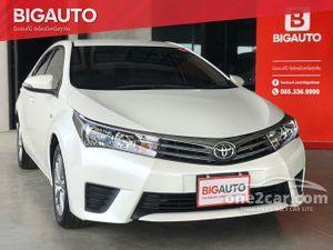 2015 Toyota Corolla Altis 1.8 (ปี 14-18) E Sedan AT