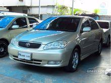 2002 Toyota Corolla Altis ALTIS หน้าหมู (ปี 01-07) E 1.8 AT Sedan