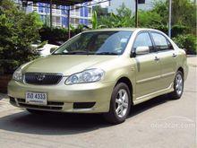 2001 Toyota Corolla Altis ALTIS หน้าหมู (ปี 01-07) E 1.6 AT Sedan
