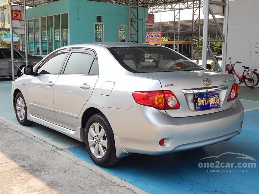 2008 Toyota Corolla Altis E Sedan