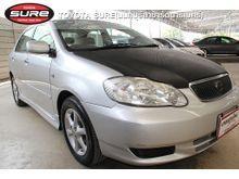 2003 Toyota Corolla Altis ALTIS หน้าหมู (ปี 01-07) E 1.6 AT Sedan