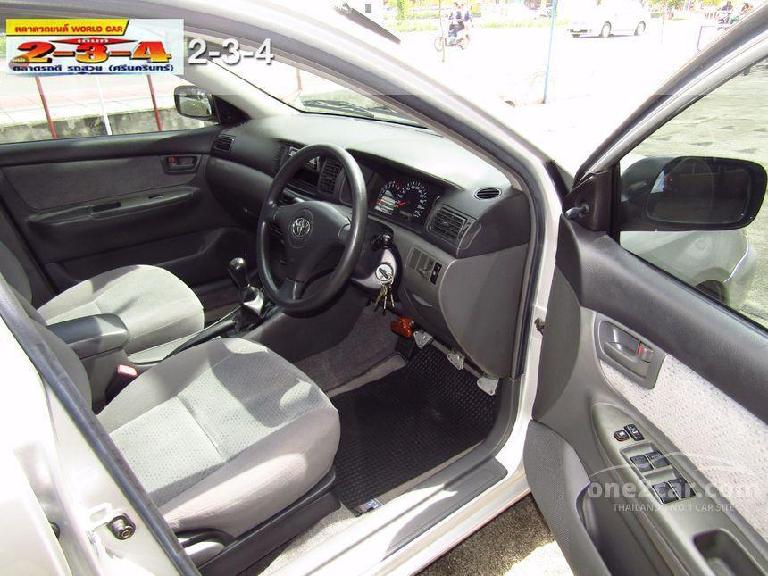 2006 Toyota Corolla Altis E Sedan