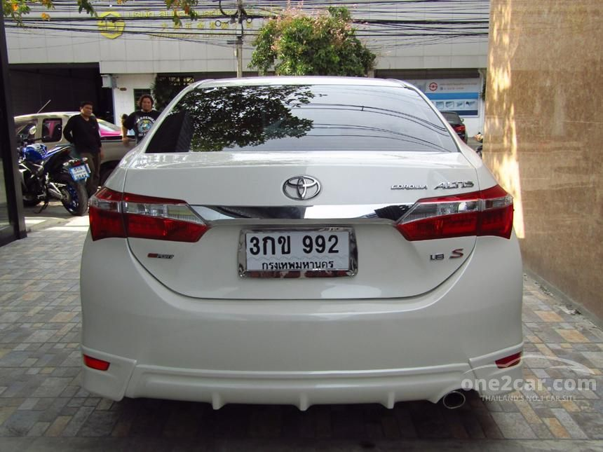 2014 Toyota Corolla Altis ESPORT Sedan