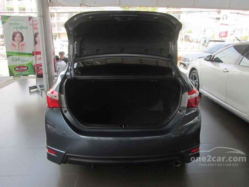 2014 Toyota Corolla Altis ESPORT Sedan