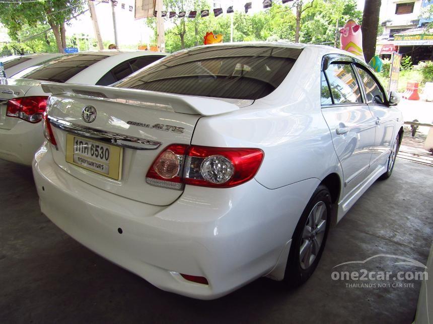 2012 Toyota Corolla Altis G Sedan