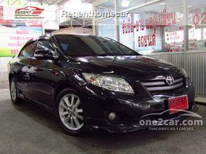 2009 Toyota Corolla Altis 1.8 ALTIS (ปี 08-13) G Sedan AT