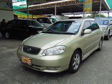 2003 Toyota Corolla Altis ALTIS หน้าหมู (ปี 01-07) G 1.8 AT Sedan