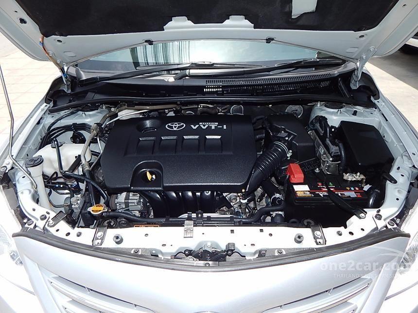 2011 Toyota Corolla Altis G Sedan