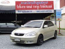 2001 Toyota Corolla Altis ALTIS หน้าหมู (ปี 01-07) G 1.8 AT Sedan