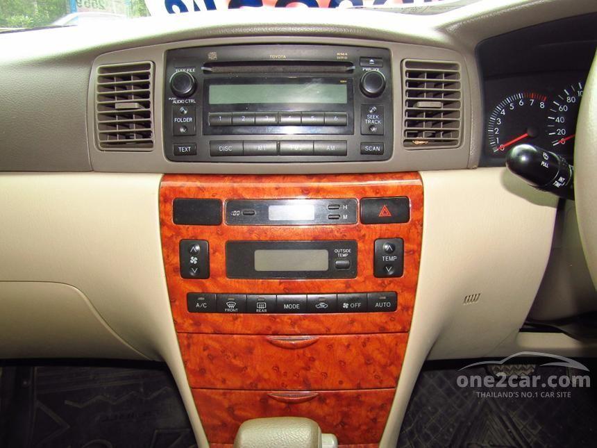 2007 Toyota Corolla Altis G Sedan