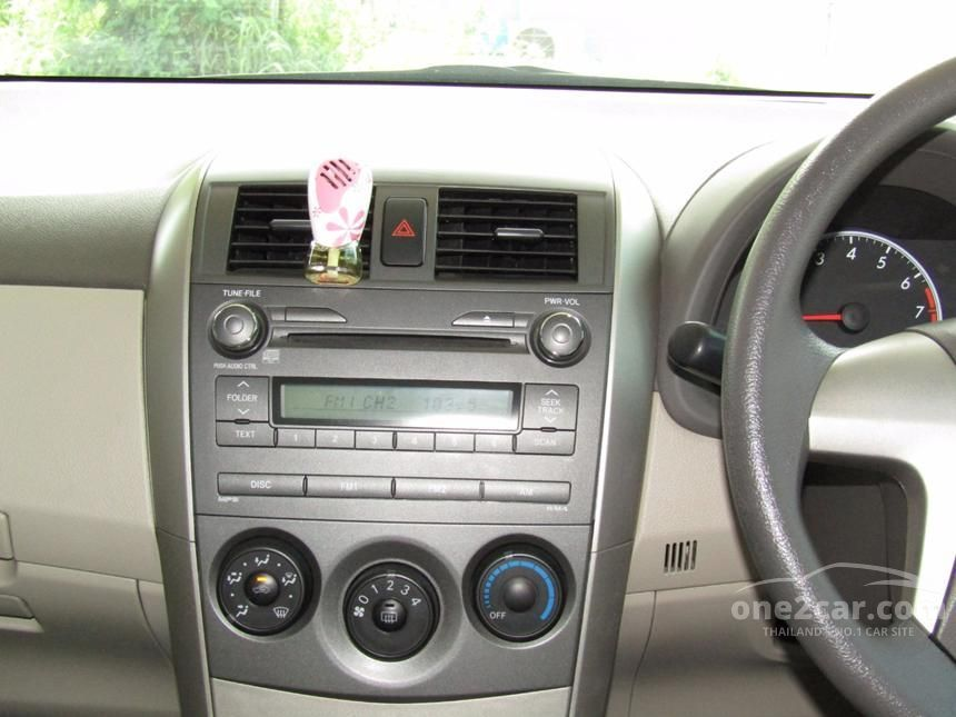 2010 Toyota Corolla Altis G Sedan