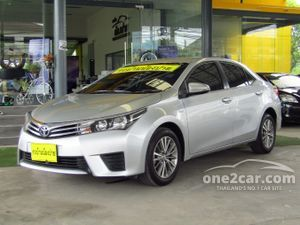 2014 Toyota Corolla Altis 1.6 ALTIS (ปี 14-18) G Sedan AT