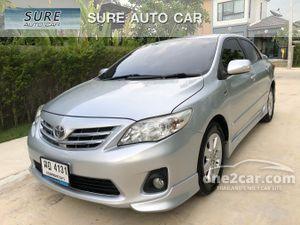2012 Toyota Corolla Altis 1.6 (ปี 08-13) G Sedan AT