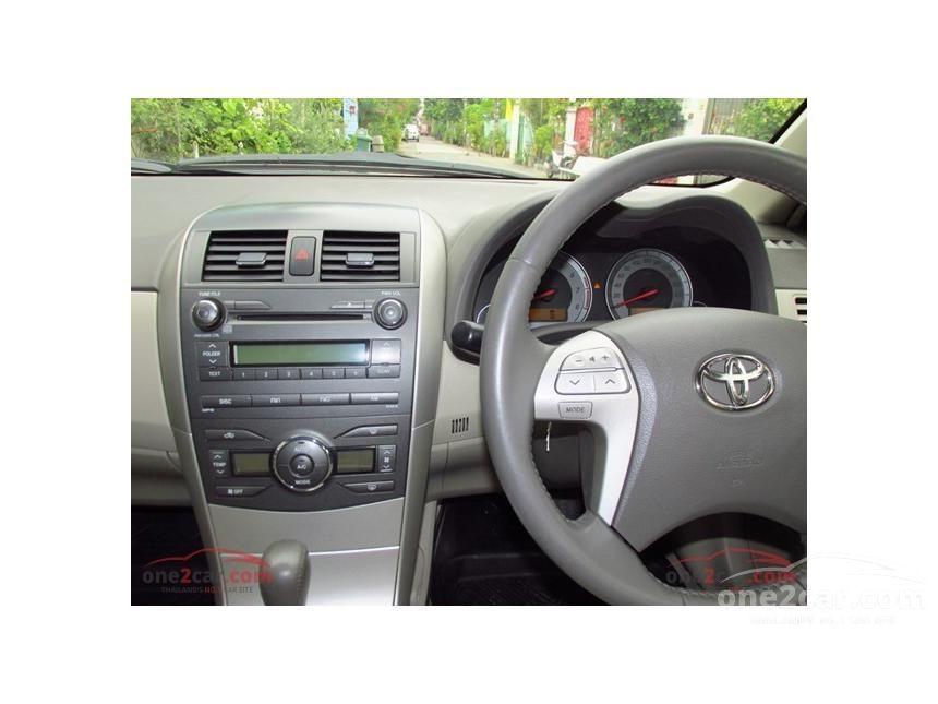 2009 Toyota Corolla Altis G Sedan