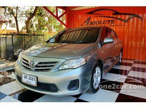 2012 Toyota Corolla Altis 1.8 ALTIS (ปี 08-13) G Sedan AT