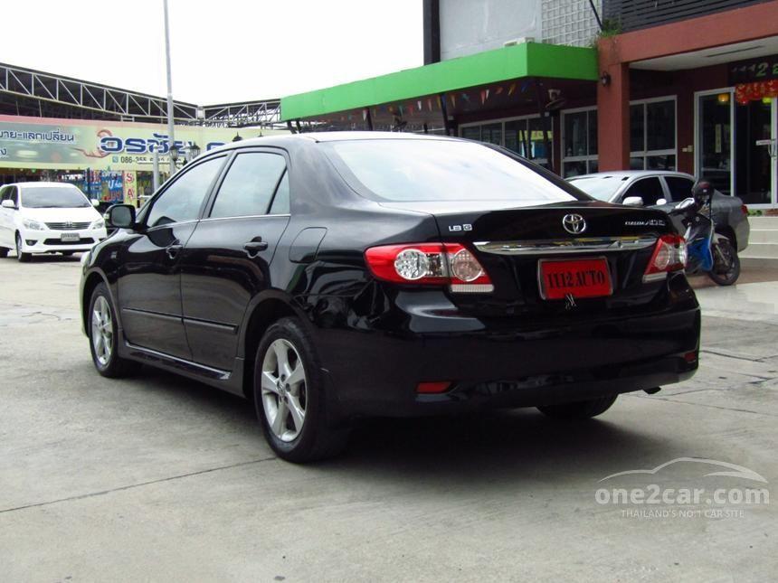 2013 Toyota Corolla Altis G Sedan