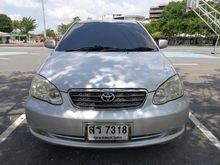 2007 Toyota Corolla Altis ALTIS หน้าหมู (ปี 01-07) G 1.8 AT Sedan