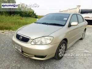 2002 Toyota Corolla Altis 1.8 ALTIS หน้าหมู (ปี 01-07) G Sedan AT