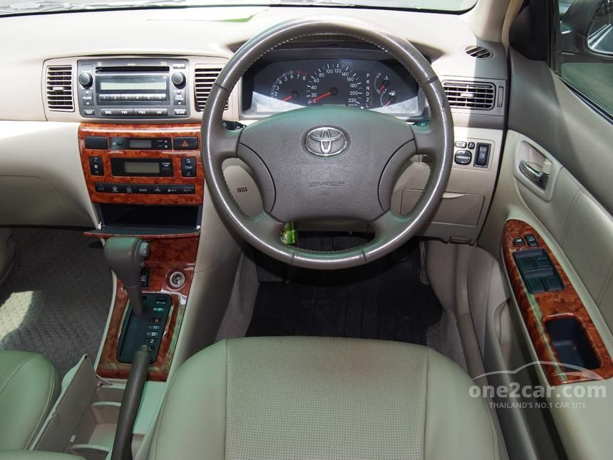 2006 Toyota Corolla Altis G Sedan