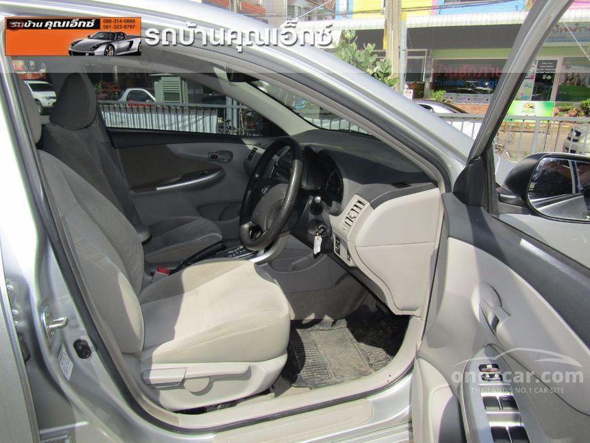 2012 Toyota Corolla Altis J Sedan