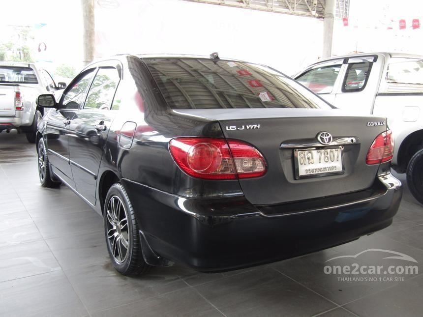 2005 Toyota Corolla Altis J Sedan