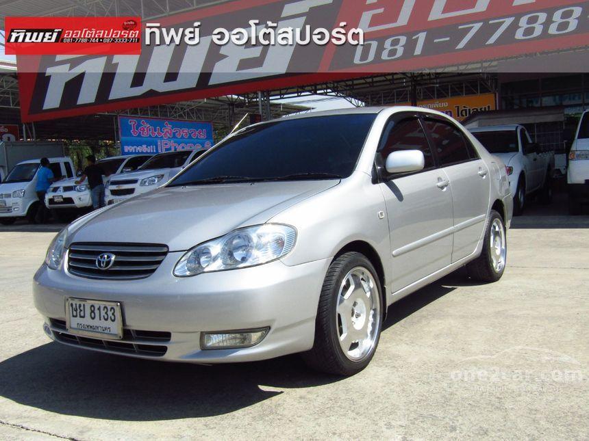 2004 Toyota Corolla Altis J Sedan