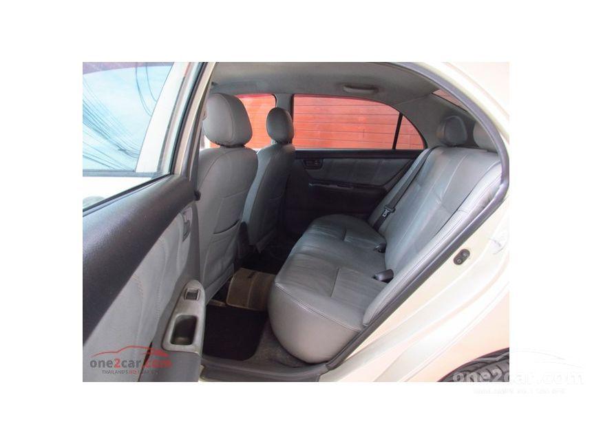 2006 Toyota Corolla Altis J Sedan