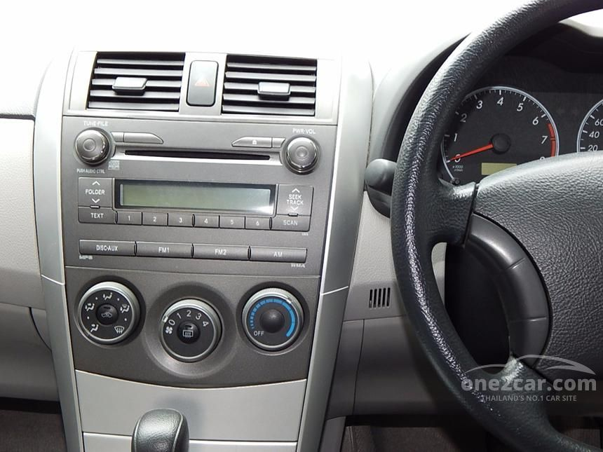2011 Toyota Corolla Altis J Sedan