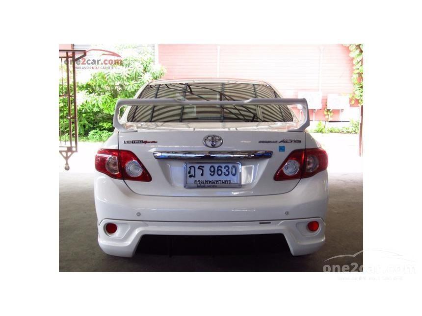 2010 Toyota Corolla Altis TRD Sedan