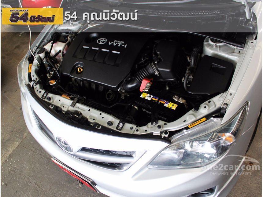 2012 Toyota Corolla Altis V Sedan
