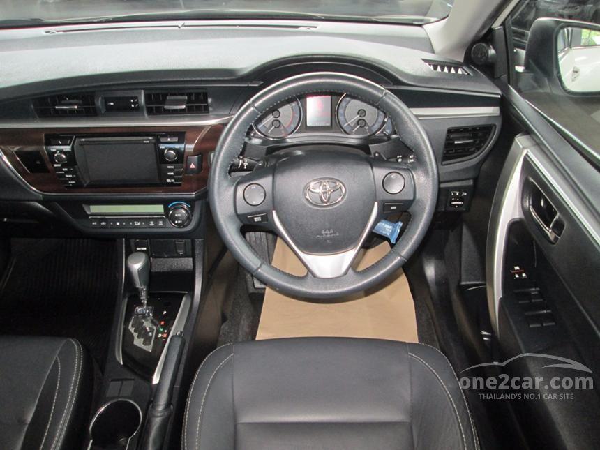 2014 Toyota Corolla Altis V Sedan