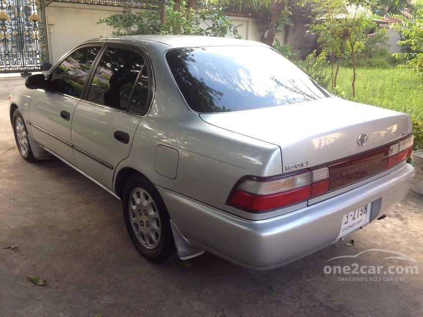 1994 Toyota Corolla GLi Sedan
